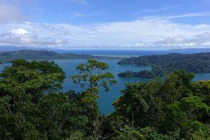 Blick auf Golfo Dulce, Costa Rica