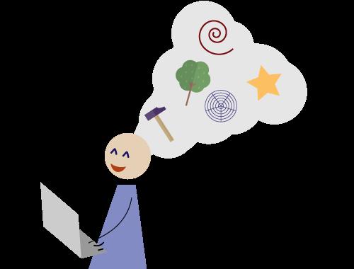 Kreativität: schreibe alle Gefühle und Gedanken auf