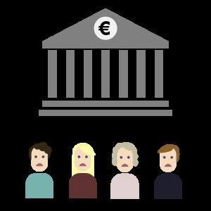 Finanzkrise Euro im Jahr 2008
