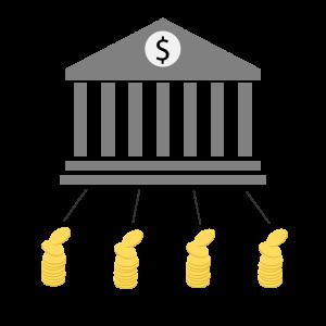 Zentralbank mit zentraler Kontrolle