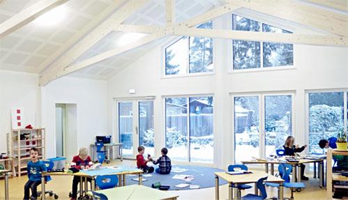 Klassenzimmer Montessori Schule