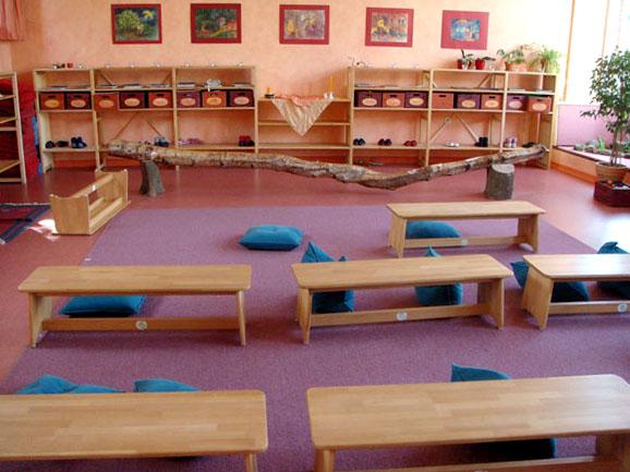 Klassenzimmer Waldorfschule